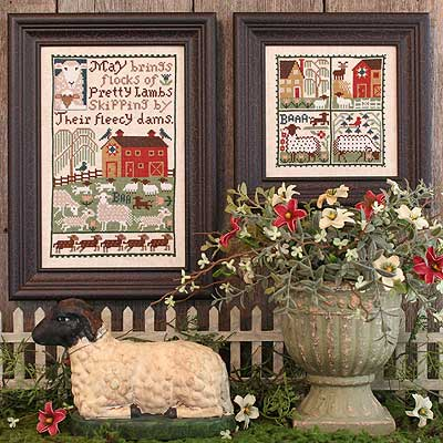 Prairie Schooler - May-Prairie Schooler - May  Cross Stitch Chart