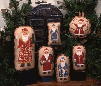 Prairie Schooler - Old St. Nick-Prairie Schooler - Old St. Nick, Santa Claus, primitive, Christmas, ornaments,