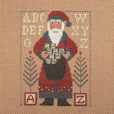 Prairie Schooler - 1997 Santa-Prairie Schooler - 1997 Santa Cross Stitch Chart