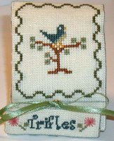 Praiseworthy Stitches - Bluebird Trifle Case - Cross Stitch Kit