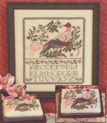 Rosewood Manor - Peaceful Dove - Cross Stitch Chart-Rosewood Manor - Peaceful Dove - Cross Stitch Chart