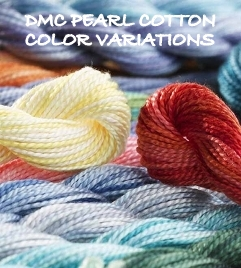 DMC COLOR VARIATIONS PEARL COTTON #5