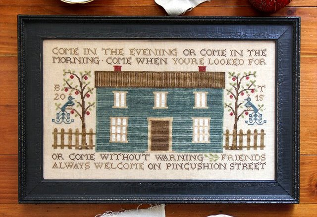 Heartstring Samplery - Pincushion Street-Heartstring Samplery, Pincushion Street, welcome, home, cross stitch