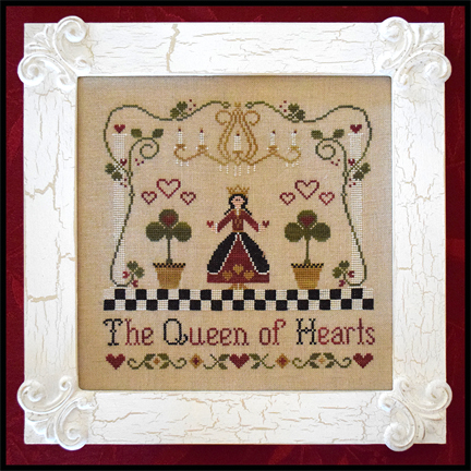 Classic Colorworks Designs - A Story Book Classic - The Queen of Hearts - Cross Stitch Pattern-Classic Colorworks, The Queen of Hearts, Storybook, fairy tale, Cross Stitch Pattern