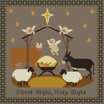 Twin Peak Primitives - Reason for the Season-Twin Peak Primitives - Reason for the Season, Jesus, Christmas, cross stitch