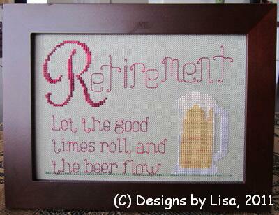 Designs by Lisa - Retirement  Beer