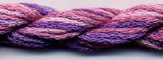 Dinky Dyes Silk Thread - Purple Haze