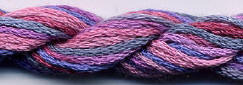Dinky Dyes Silk Thread - Barrier Reef
