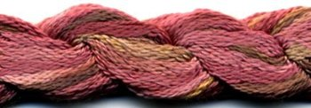 Dinky Dyes Silk Thread - Cherry Ripe-Dinky Dyes Silk Thread - Cherry Ripe