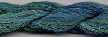 Dinky Dyes Silk Thread - Blue Groper
