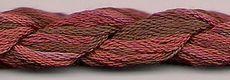 Dinky Dyes Silk Thread - Choco Cherry