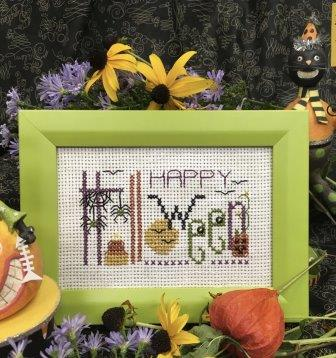 Shepherd's Bush - Happy Halloween Kit-Shepherds Bush - Happy Halloween Kit, fall, tula, trick or treat, cross stitch