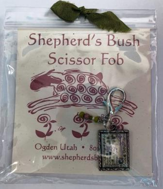 Shepherd's Bush - Lucky Notes - Scissor Fob-Shepherds Bush - Lucky Notes - Scissor Fob,