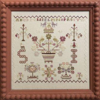 Bendy Stitchy - SI 1849-Bendy Stitchy - SI 1849, samplers, historic, cross stitch