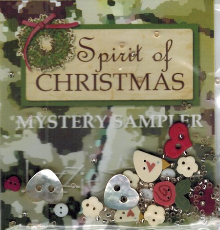 Lizzie Kate - Spooked! Mystery Sampler Embellishment Pack-Lizzie Kate - Spooked Mystery Sampler Embellishment Pack
