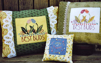 SamSarah Design Studio - Best Buds - Cross Stitch Pattern-SamSarah Design Studio - Best Buds - Cross Stitch Pattern