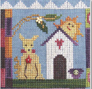 SamSarah Design Studio - Daily Life - Pearl 03 of 12 - Growl When Needed! - Cross Stitch Pattern