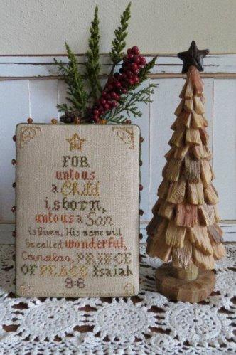 Stitches Through Time - Christmas Tree-Stitches Through Time - Christmas Tree,Isaiah 96, bible verses, Christmas, God, Jesus, cross stitch