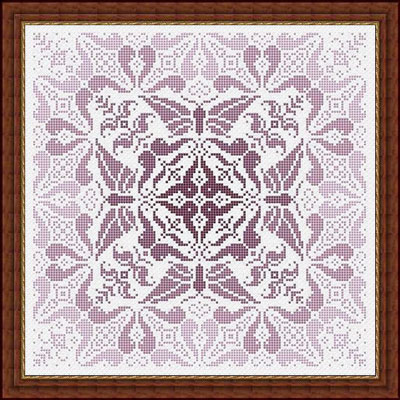 Whispered by the Wind - Sonata-Whispered by the Wind - Sonata - Cross Stitch Pattern