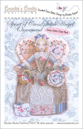 Brooke's Books - Spirit of Cross Stitch  Angel Ornament Chart Pack-Brookes Books - Spirit of Cross Stitch  Angel Ornament Chart Pack