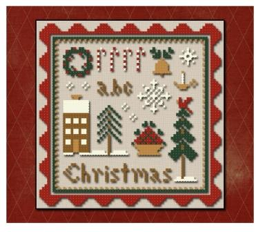 Little House Needleworks - Spot of Christmas -Thread Pack-Little House Needleworks - Spot of Christmas, Christmas motifs,