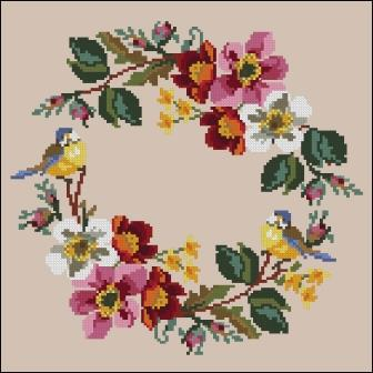 Twin Peak Primitives - Spring Wreath-Twin Peak Primitives - Spring Wreath