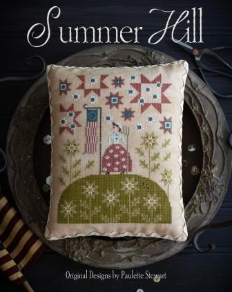 Plum Street Samplers - Summer Hill-Plum Street Samplers - Summer Hill, USA, patriotic, American flag, CROSS STITCH