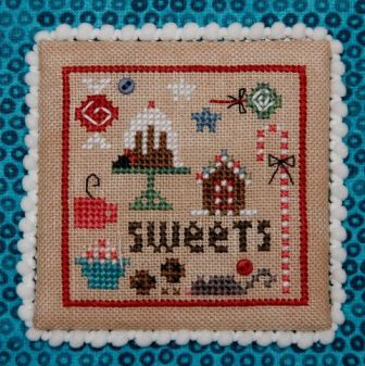 Heart in Hand Needleart - Square Dance - Christmas-Heart in Hand Needleart - Square Dance - Christmas,  ornaments, smalls, Christmas, cross stitch