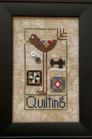 Heart in Hand Needleart - Quilting Bird-Heart in Hand Needleart - Quilting Bird, SEWING, quilting, blankets, quilt blocks. cross stitch