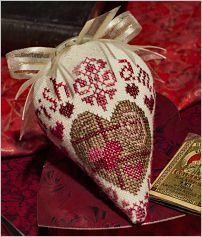 Erica Michaels Needleart Designs - Sweetberry - Linen Berry