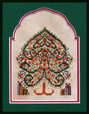 Turquoise Graphics & Designs - Gifts Gather Under - Cross Stitch Pattern