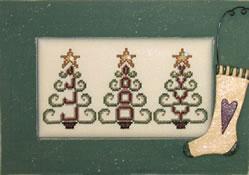 Hinzeit - Crystal Tree Joy-Hinzeit - Crystal Tree Joy - Cross Stitch Pattern
