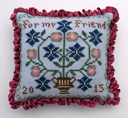 Threads of Memory - For My Friend-Threads of Memory - For My Friend - 2015 NASHVILLE RELEASE, Cross Stitch Pattern