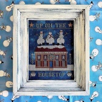 Teresa Kogut - Up on the Housetop-Teresa Kogut - Up on the Housetop, Christmas, Santa Claus, snowman, expo, cross stitch