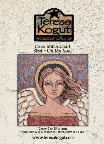 Teresa Kogut - Oh My Soul-Teresa Kogut - Oh My Soul, angels, heaven, God, artwork, cross stitch