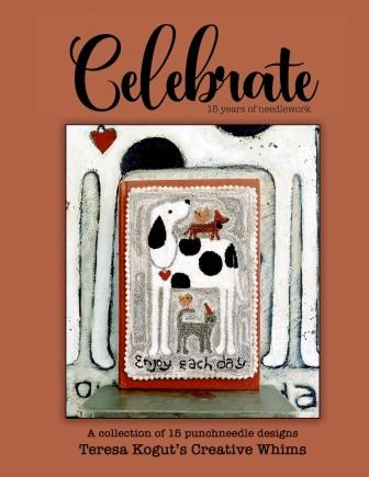 Teresa Kogut - Celebrate - Punch Needle Book-Teresa Kogut - Celebrate - Punch Needle Book,