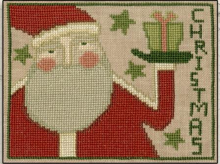 Teresa Kogut - Prim Santa-Teresa Kogut - Prim Santa, Santa Claus, Christmas, gifts, cross stitch