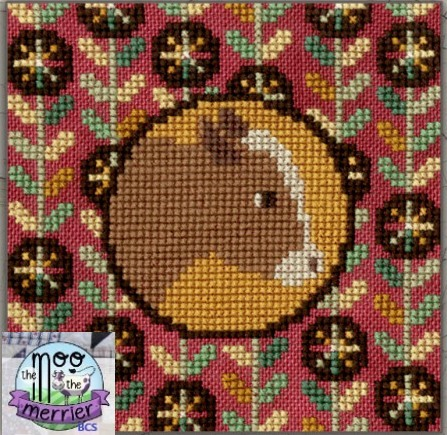 Teresa Kogut - PA Dutch Farm-Heifer (The Moo The Merrier!)-Teresa Kogut - PA Dutch Farm-Heifer The Moo The Merrier, cows, cross stitch