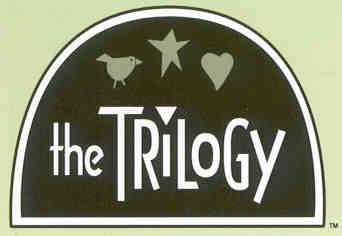 THE TRILOGY CROSS STITCH KITS