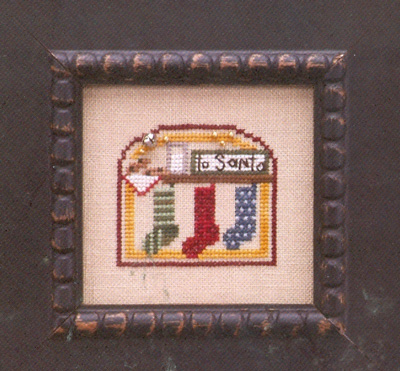 The Trilogy - Domes of Yule - Chimney Cheer - Cross Stitch Pattern