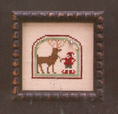 The Trilogy - Domes of Yule - Holiday Helpers - Cross Stitch Pattern-The Trilogy - Domes of Yule - Holiday Helpers - Cross Stitch Pattern