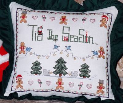 Designs by Lisa - Tis The Season - Cross Stitch Pattern