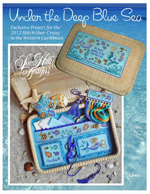Sue Hillis Designs - Under The Deep Blue Sea-Sue Hillis Designs - Under The Deep Blue Sea - Cross Stitch Pattern