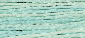 Weeks Dye Works - Robin's Egg-Weeks Dye Works - Robins Egg, floss, threads, sewing, 275, cross stitch, cotton, strands, blue,