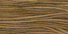 Weeks Dye Works - Mocha-Weeks Dye Works - Mocha, six strand floss