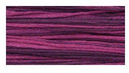 Weeks Dye Works - Blackberry-Weeks Dye Works, Blackberry, Hand Over-Dyed Floss, cross stitch, needlework, threads, 1329,