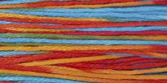 Weeks Dye Works - Confetti-Weeks Dye Works - Confetti, six strand floss