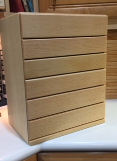 Wood Crafters - Thread Cabinet-Wood Crafters - Thread Cabinet, floss, DMC, colors, stitching, sewing, wood,