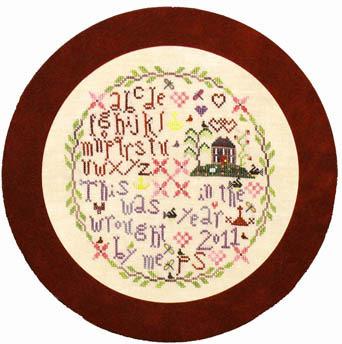 Praiseworthy Stitches - Willow House Retreat - Cross Stitch Pattern