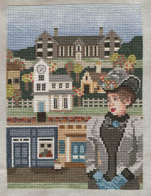 Ship's Manor - A Wink and a Smile-Ships Manor - A Wink and a Smile, romance, love, cross stitch